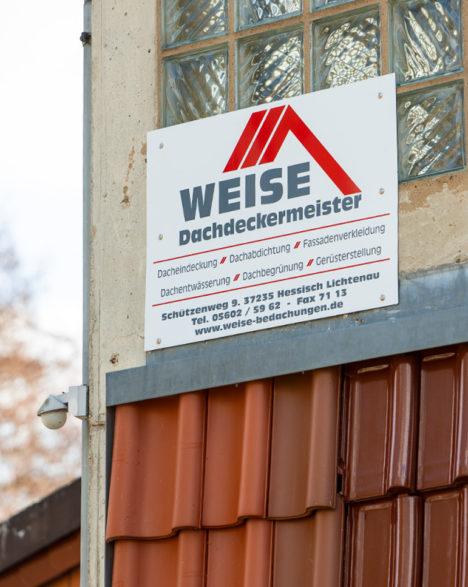 Uwe Weise Dachdeckermeister, Hessisch-Lichtenau, Weise Bedachungen